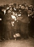 The arrest of Miss Dora Marsden, 30th March 1909 Fine Art Print by English Photographer