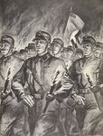 The historical torchlight procession of the SA in Berlin on the 30th January, 1933, from 'Geschichte der SA' by Wilhelm Rehm, pub. by Franz Eher Nachf, 1938 Postcards, Greetings Cards, Art Prints, Canvas, Framed Pictures, T-shirts & Wall Art by English School