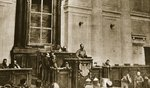 First session of the Soviet Duma, 1917 Fine Art Print by Russian Photographer