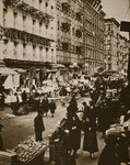 Orchard Street, Lower East Side, New York, early 1930s Fine Art Print by American Photographer
