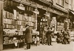 A second hand bookshop, Charing Cross Road Fine Art Print by English Photographer