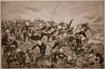 The Battle of Majuba Hill Fine Art Print by Richard Caton Woodville