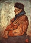 An Old Fisherman, 1904 Fine Art Print by French School