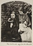 George MacDonald and his daughter Lily, 14th October 1863 Fine Art Print by Felix Edouard Vallotton