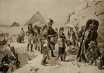 Napoleon in Egypt, illustration from 'Hutchinson's History of the Nations', c.1915 Fine Art Print by French School