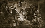 The Death of Nelson, 1805, illustration from 'Hutchinson's Story of the British Nation', c.1923 Fine Art Print by Daniel Maclise