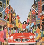 Carnaby Street, from 'Carnaby Street' by Tom Salter, 1970 Wall Art & Canvas Prints by Malcolm English