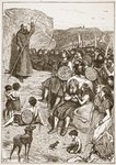 Celtic missionary preaching, illustration from 'The Church of England: A History for the People' by H.D.M. Spence-Jones, pub. c.1910 Fine Art Print by Edward Henry Wehnert