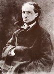 Charles Baudelaire, 1855 Fine Art Print by French School
