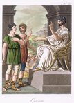 A Roman Censor, illustration from 'L'Antique Rome', engraved by Labrousse, published 1796 Postcards, Greetings Cards, Art Prints, Canvas, Framed Pictures, T-shirts & Wall Art by Mughal School
