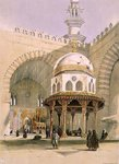The Mosque of Sultan Hassan, Cairo, pub. 1846