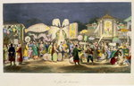 The Festival of the Lanterns, pub. by Formentin, 1824-27 Wall Art & Canvas Prints by French School