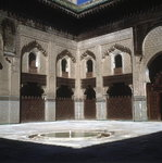 Inner Courtyard of the Mosque Fine Art Print by Lucy Willis