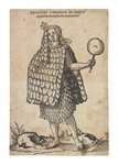 Aztec woman, c.1580-1600 Fine Art Print by Jacques Grasset de Saint-Sauveur