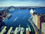 Sydney Harbour, PM, 1995 (oil on canvas)