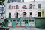 Leete's Paint Works, Southwark, 1966 (colour photo) Fine Art Print by Umberto Boccioni