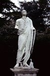 Statue, Chiswick House, London, 1968 Fine Art Print by French School