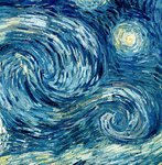 The Starry Night, June 1889 Wall Art & Canvas Prints by Vincent van Gogh