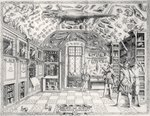 The Natural History Museum of Emperor Ferdinand III from 'Historia Naturale' by Ferrante Imperato Fine Art Print by Odile Kidd