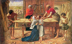 Christ in the House of His Parents, 1863 Fine Art Print by William Holman Hunt