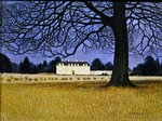 Middleton Park, Oxfordshire Wall Art & Canvas Prints by English School