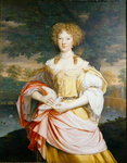 Portrait of Mary Wilbraham Fine Art Print by Veronese