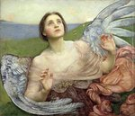 Sense of Sight, 1895 Wall Art & Canvas Prints by Evelyn De Morgan