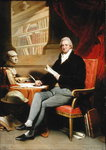 Portrait of William Roscoe Fine Art Print by Charles Jervas