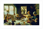 One of The Family, 1880 Fine Art Print by Niklaus Manuel