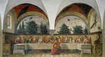 The Last Supper, 1480 (fresco) Wall Art & Canvas Prints by Jean Alexandre Joseph Falguiere