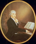 Joseph Haydn c.1795 Fine Art Print by Mexican School
