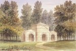 The Pavilion in Kensington Gardens, 1828 (w/c on paper) Wall Art & Canvas Prints by John Constable