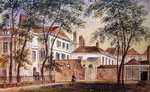 View of the House and Museum of the Late Duchess of Portland (1715-1785) 1796 (w/c on paper) Fine Art Print by English School
