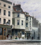 The Boars Head Inn, King Street, Westminster, 1858 (w/c on paper) Postcards, Greetings Cards, Art Prints, Canvas, Framed Pictures, T-shirts & Wall Art by Thomas Hosmer Shepherd