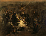 The Death of Nelson, 21st October 1805, 1807 Fine Art Print by Benjamin West