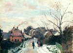 Fox hill, Upper Norwood, 1870 (oil on canvas) Wall Art & Canvas Prints by Alfred Sisley