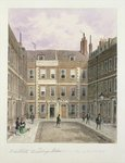 Bartlett's Buildings, Holborn, 1838 Fine Art Print by Jacques Francois Joseph Swebach