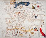 Copy of Catalan Map of Europe, North Africa and the Middle East Fine Art Print by Spanish School