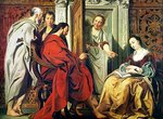 Christ at the House of Martha and Mary of Bethany