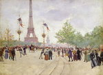 Entrance to the Exposition Universelle, 1889 Fine Art Print by Pierre-Auguste Renoir