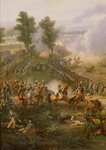The Battle of Marengo, detail of Napoleon Bonaparte