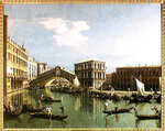 The Rialto Bridge, Venice Fine Art Print by William James