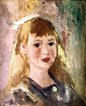 Lucie Berard (oil on canvas) Fine Art Print by Mary Stevenson Cassatt