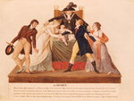 Divorce. The Reconciliation (gouache on paper) Fine Art Print by Louis Leopold Boilly