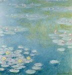 Nympheas at Giverny, 1908 Fine Art Print by Claude Monet