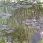 Nympheas at Giverny, 1918 Fine Art Print by Claude Monet