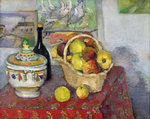 Still Life with Tureen, c.1877 (oil on canvas) Wall Art & Canvas Prints by Paul Cezanne
