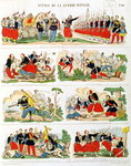 Scenes from the Italian Campaign in 1859 Fine Art Print by James Sharples