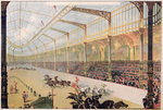 Poster of the Hippodrome de l'Alma (colour litho) Fine Art Print by French School