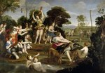 The Hunt of Diana, 1616-17 (oil on canvas) Fine Art Print by Peter Paul Rubens